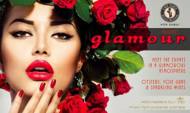 Flyer Café Zazen - Glamour V.2.14