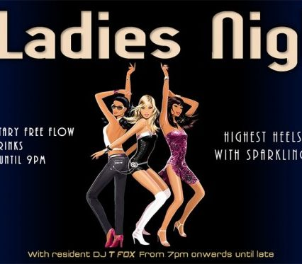 Flyer Café Zazen - Ladies Night V.2.14
