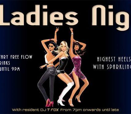 Flyer Café Zazen - Ladies Night V.2.14