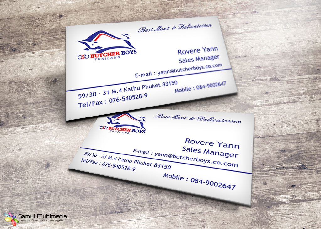Business card - Butcherboys