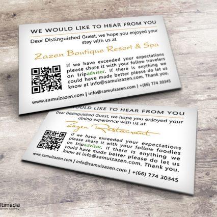 Tripadvisor cards - Zazen Resort