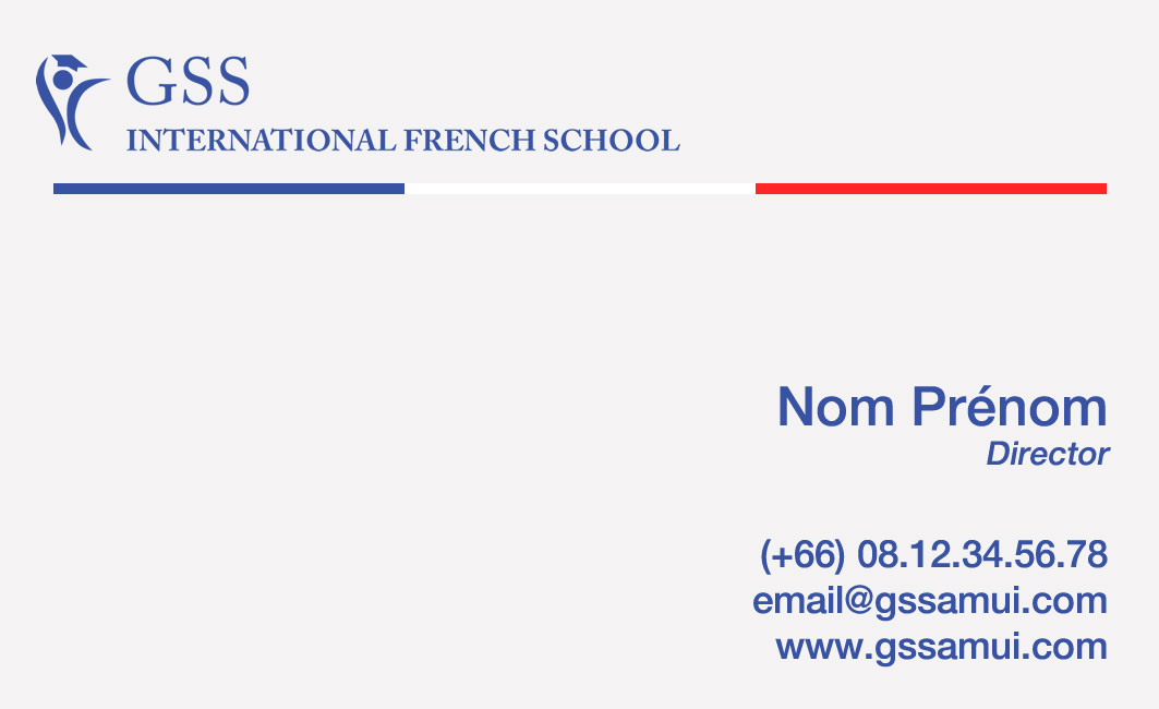 Business card – GS Samui