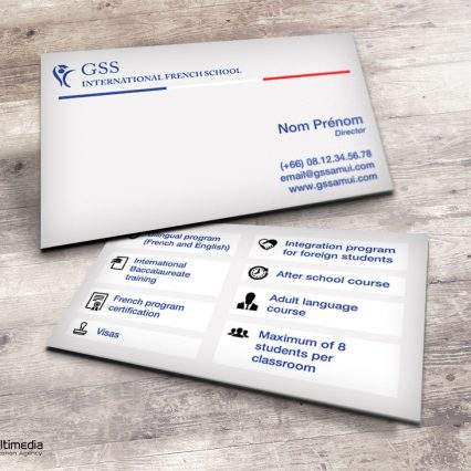 Business card - GS Samui