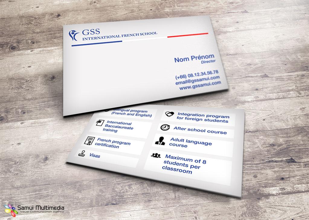 Business card - GS Samui