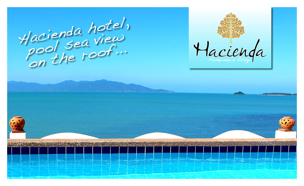 Business card – Hacienda Hotel