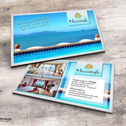 Business card - Hacienda