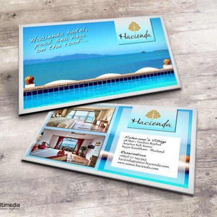 Business card - Hacienda