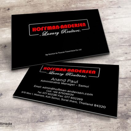 Business card - Hoffman-Andersen