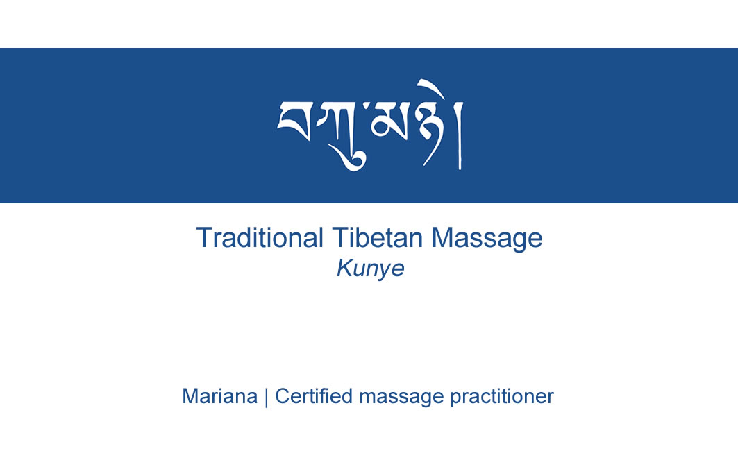 Business card – Mariana massage
