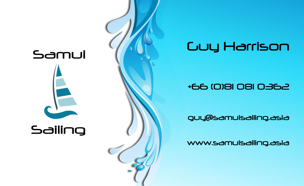 Business card – Samui Sailing