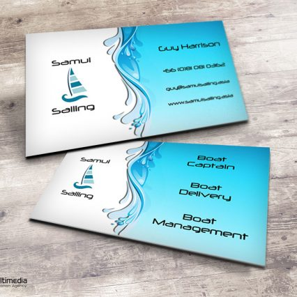 Business card - Samui Sailing