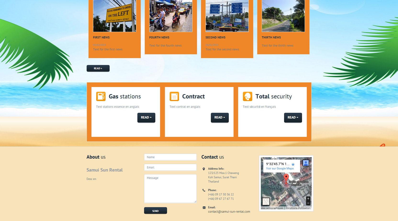 Website – Samui Sun Rental