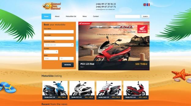 Website - Samui Sun Rental