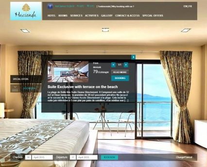 Website - Hacienda Hotels