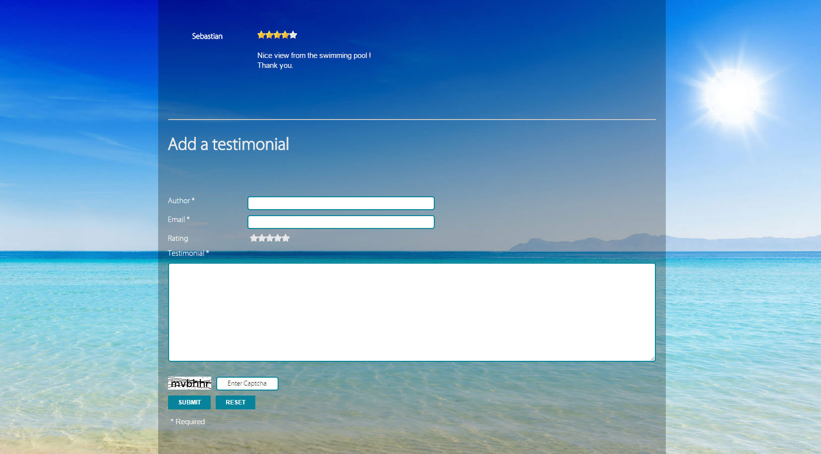 Website – Hacienda Hotel