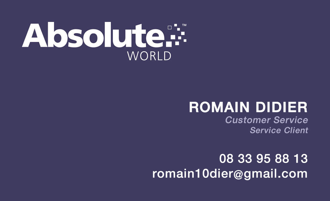 Business card – Absolute