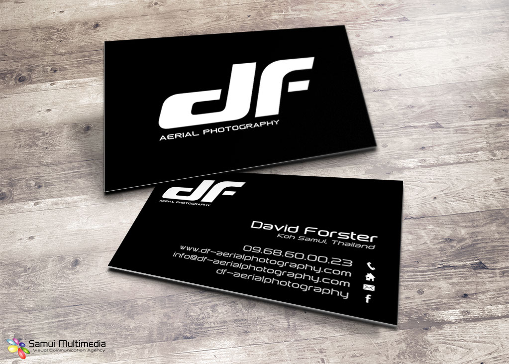 Business card - DF Aerial Photography