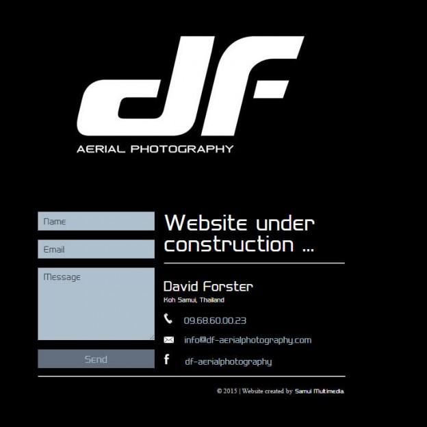 Construction page DF Aerial Photography