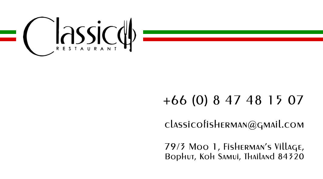 Business card – Classico