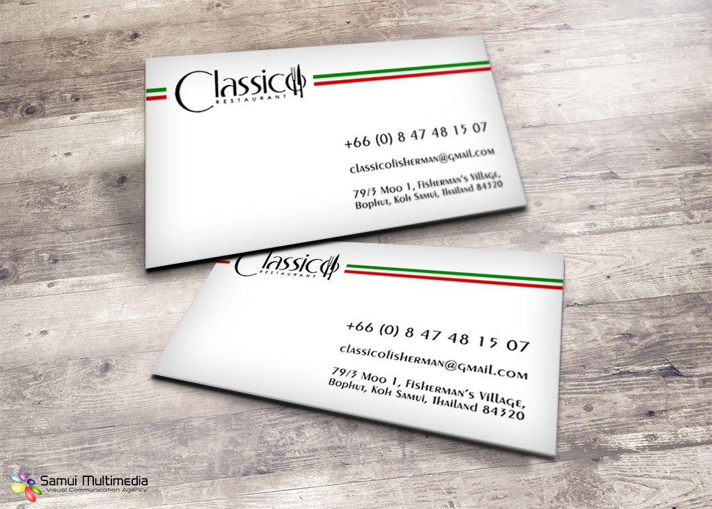 Business card - Classico