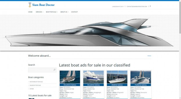 Website - Siam Boat Doctor