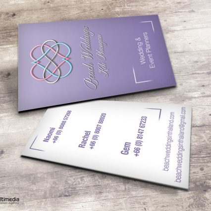 Business card - Beach Weddings