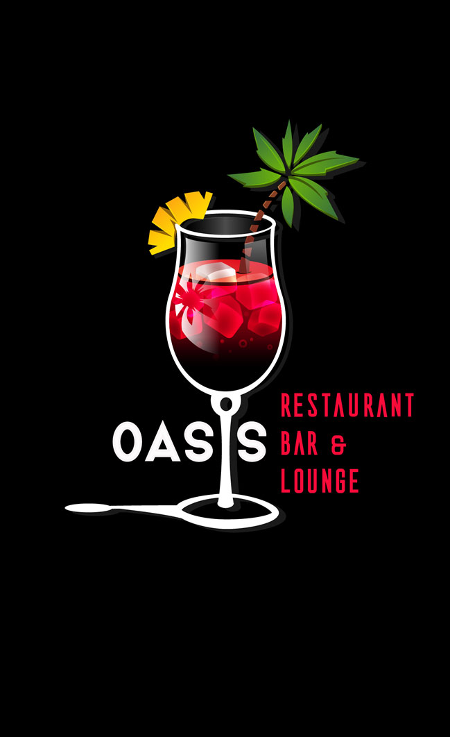 Business card – Oasis Bar
