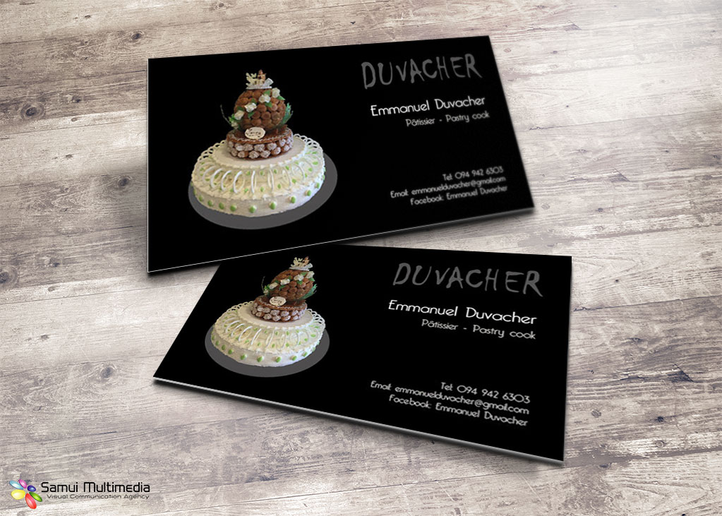 Business card - Emmanuel Duvacher