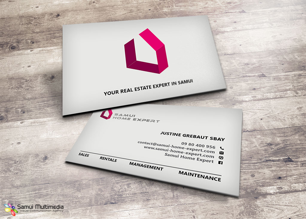 Business card - Samui Home Expert