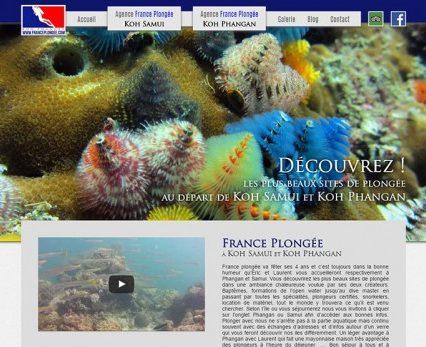 Website - France Plongée
