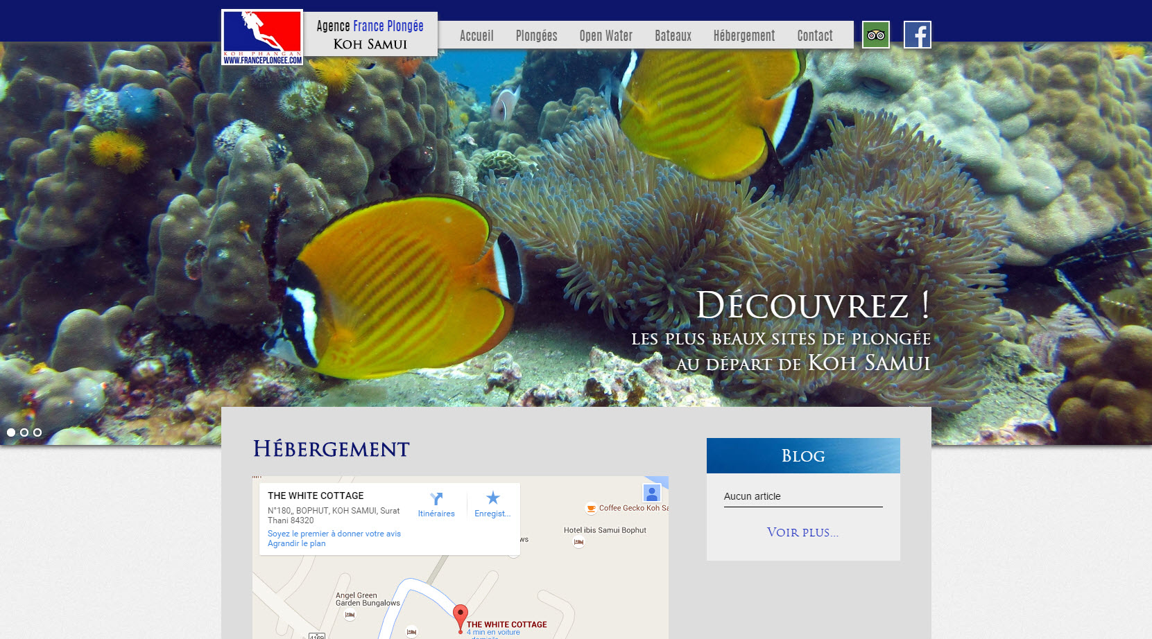 Website – France Plongée