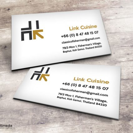 Buisness card - Link