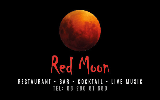 Business card – Red Moon