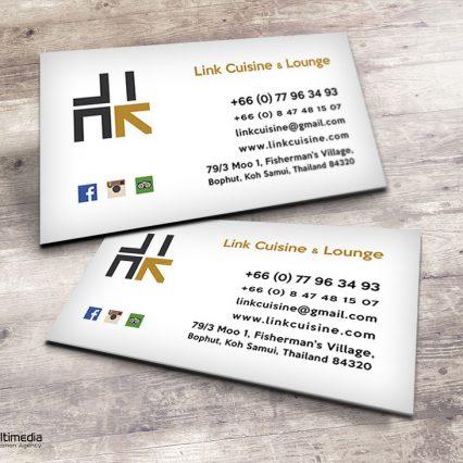 Buisness card V.2 - Link Cuisine