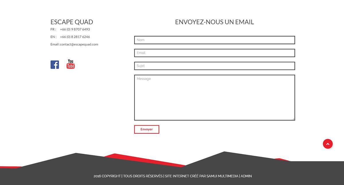 Website – Escape Quad