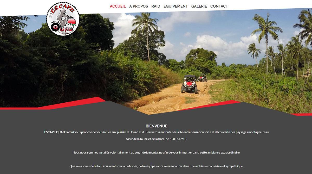 Website - Escape Quad