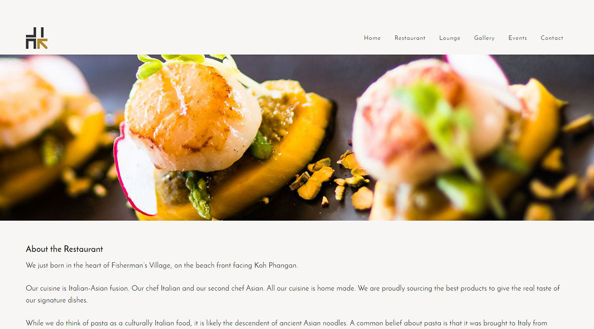 Website – Link cuisine