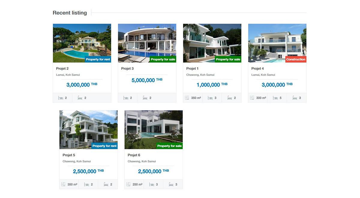 Website – Samui Build