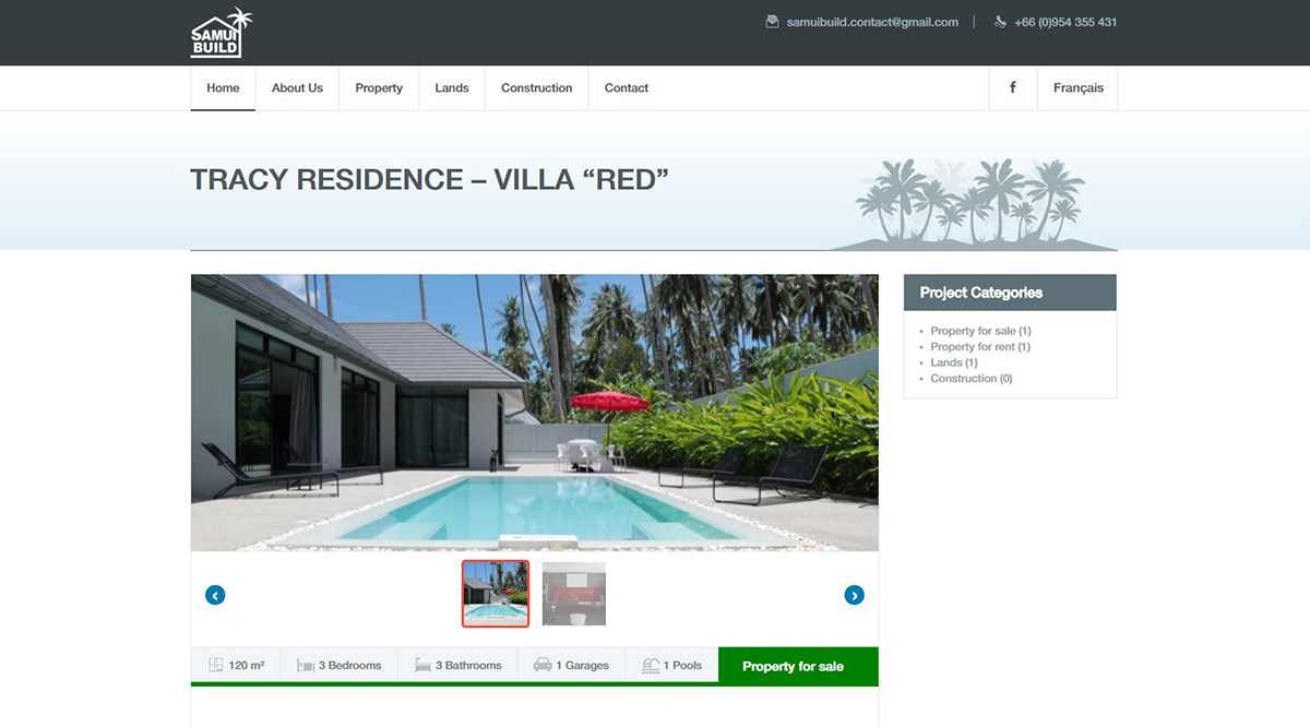 Website – Samui Build