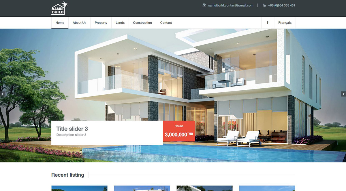 Website - Samui Build