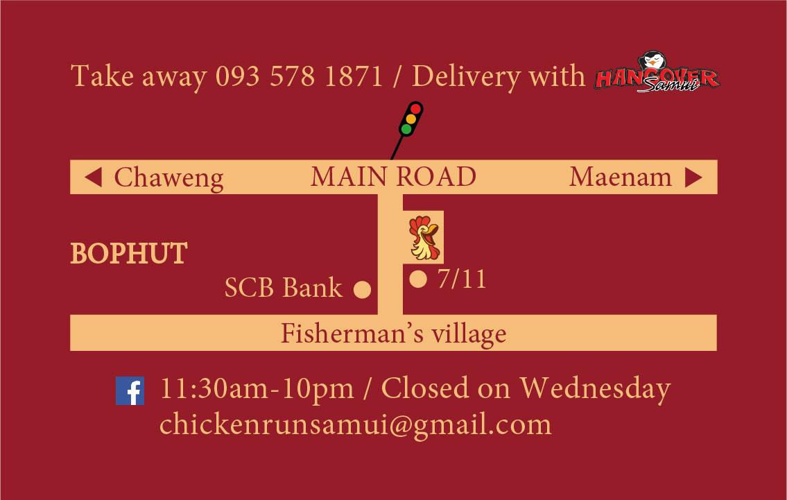 Business card – Chicken Run