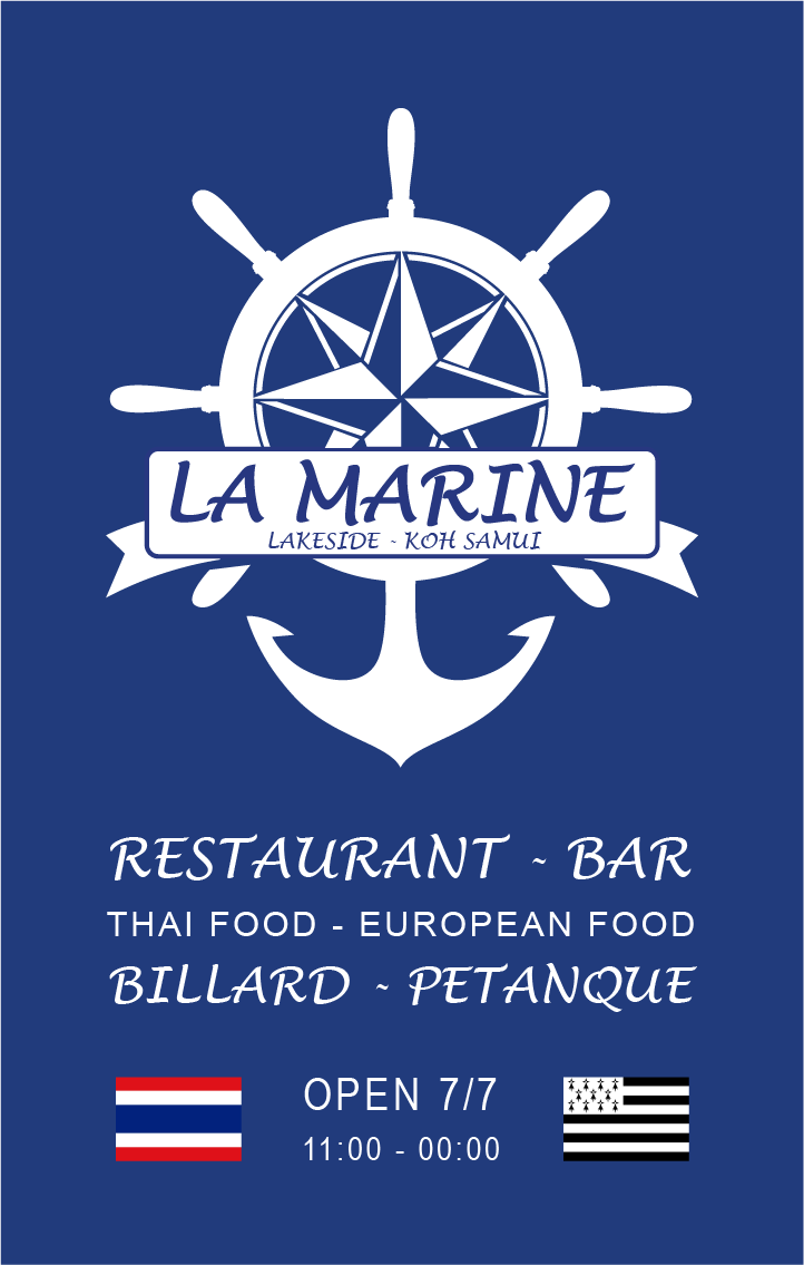 Business card – La Marine