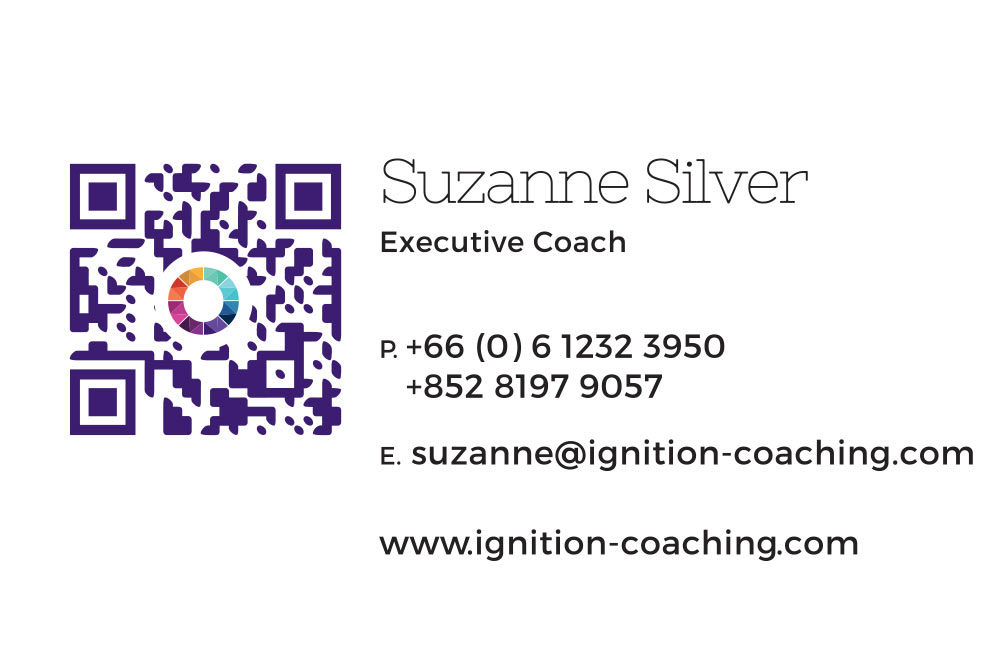 Business card 2 – Suzanne Silver