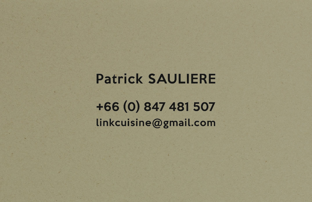 Business card – Link Cuisine