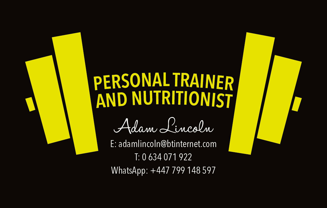 Business card – Adam Lincoln