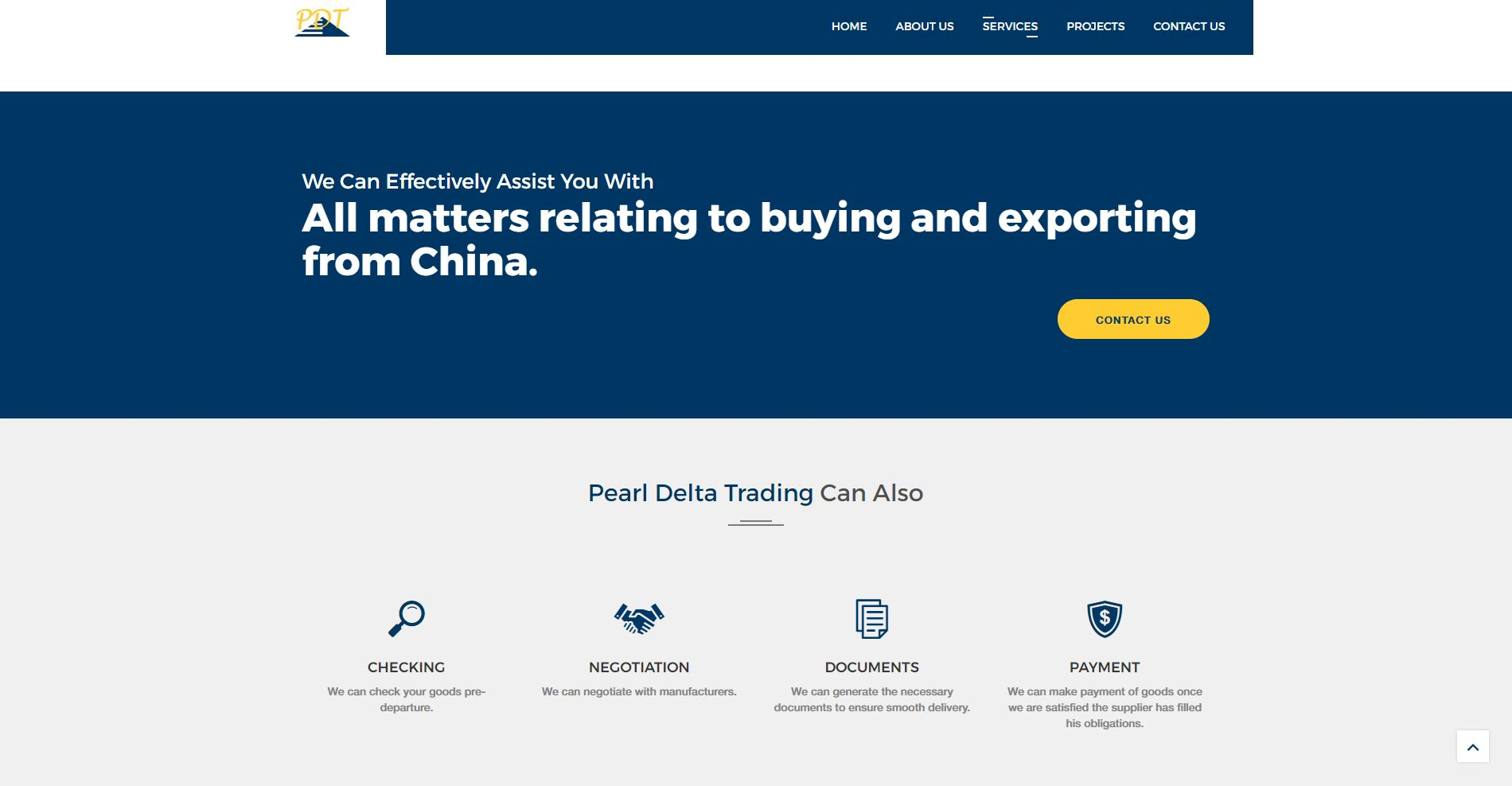Website – Pearl Delta Trading