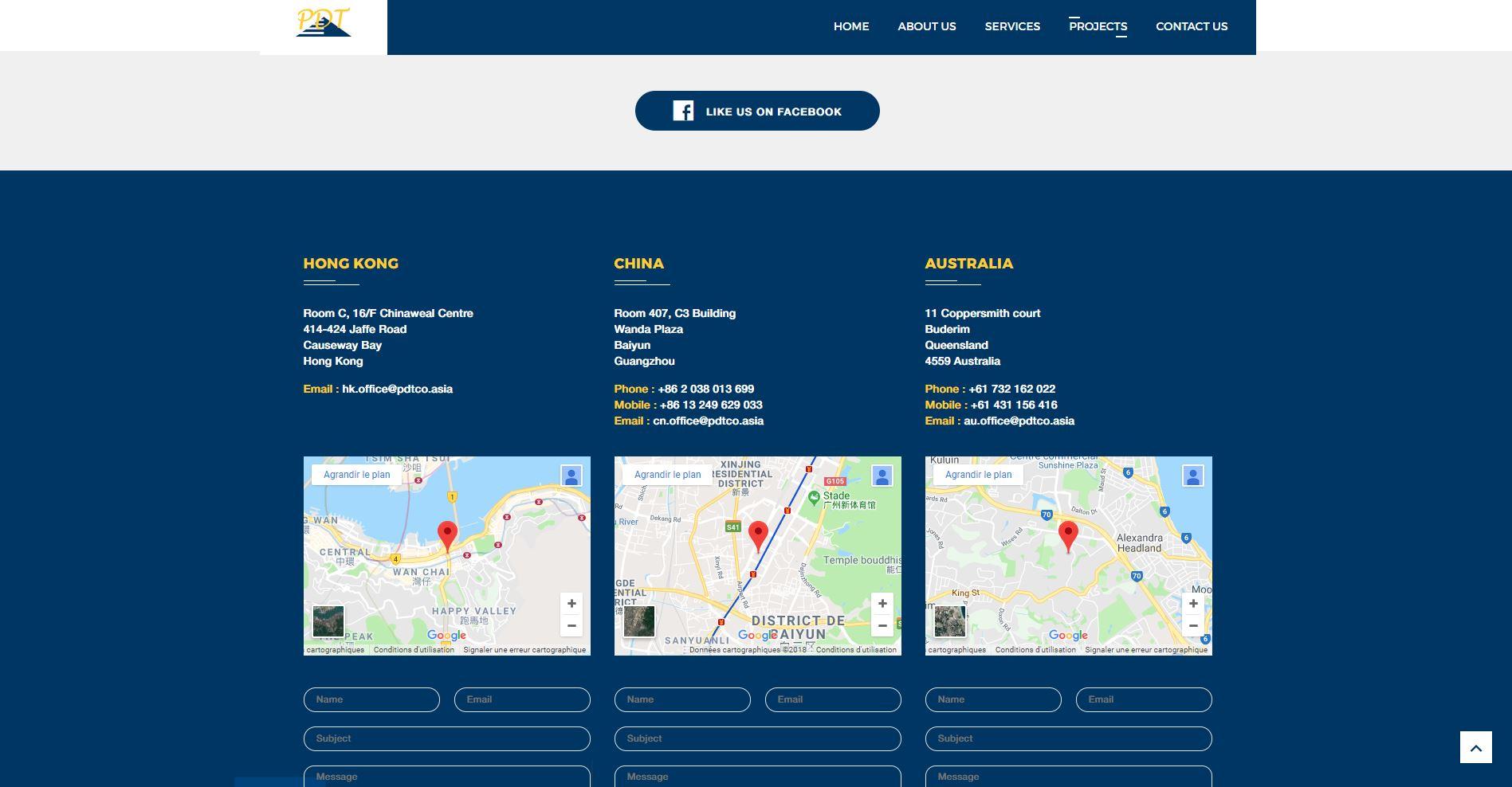 Website – Pearl Delta Trading