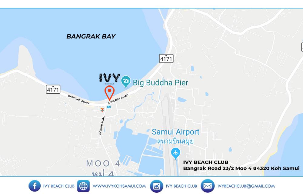 Business card – IVY Beach Club