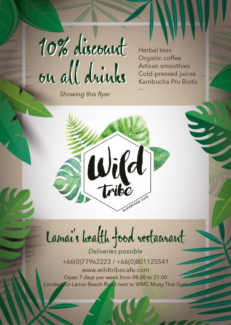 Flyer – Wild Tribe Cafe & Visit Natural Resort