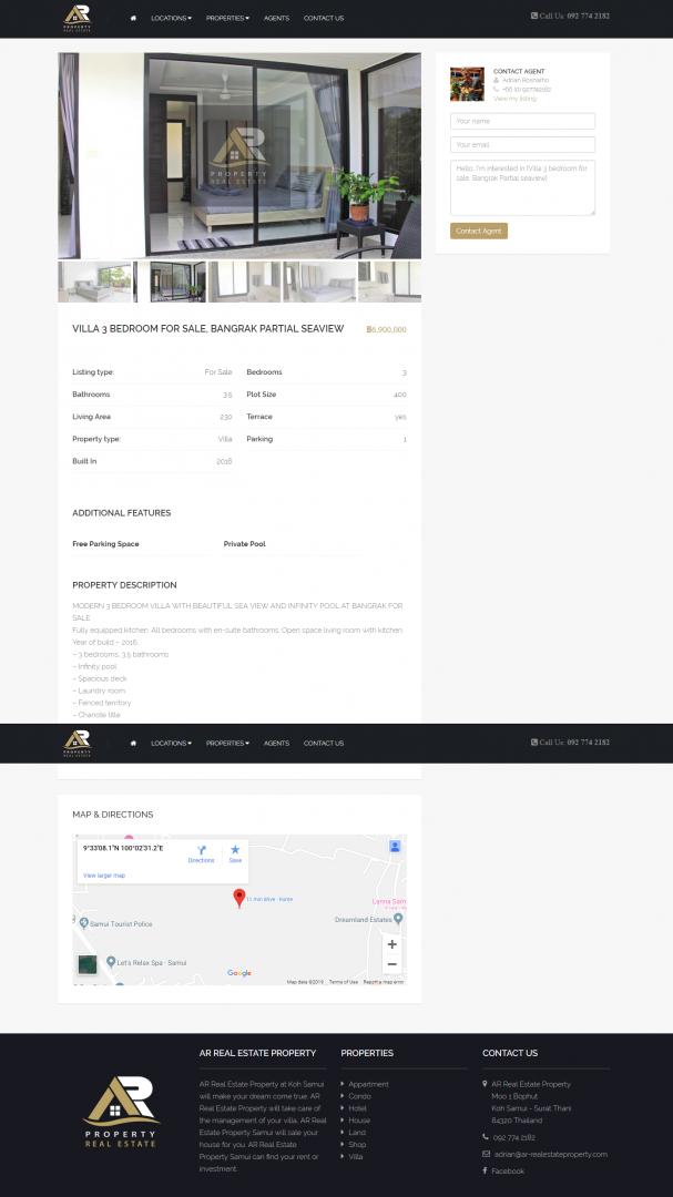 Website – AR Real Estate